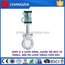 Pneumatic automatic knife gate valve dn250