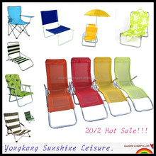 Folding leisure chair with reclining function, Folding recliner chair