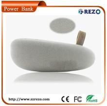 2015 Hong Kong Fair Gift Power Bank 2600mAh with cloth feeling coating