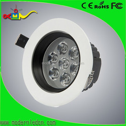 black and white 7w angle adjustable led ceiling light