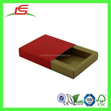 E0029 China Supplier Wholesale Drawer Style Cheap Empty Chocolate Boxes Packaging In Delhi Style