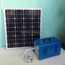 5W 10W 20W portable mini solar home lighting kit with moblie charger