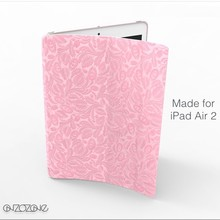 2015 hot sale cute tablet cover for iPad Air 2 leather case