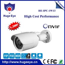 Hugeeye hi3518e+ar0130 H.264 HD 960P ip camera IP66 outdoor security cameras home