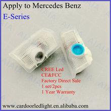 interior step light,car logo door light apply to mercedes benz E series