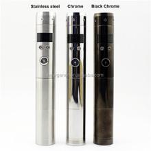 Wholesale high end digital vaporizer pen with led screen shows battery and voltage digital vaporizer pen