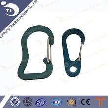 Titanium key buckle, titanium key chain, titanium key ring made in Baoji Jucheng