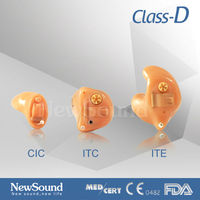 Bone Conduction hearing aid amplifier mini ear CIC ITC ITE