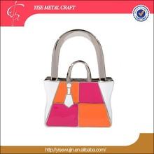 2014 Hot Type Promotional bag Shape Handbag Folding bag Hook