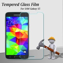 2015 Newest Popular 2.5D 9H Hardness Tempered Glass Screen Guard/Protector For S5 Anti-broken Screen Protector