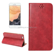 High Quality For iPhone 6s Genuine Leather Wallet Case