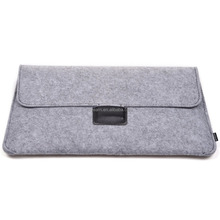 "Gray Felt Laptop / Notebook Sleeve Cover Case for Apple Macbook AIR 11 ""11.6"""