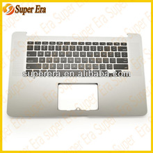 us keyboard with top case for macbook pro A1398----new original and best quality
