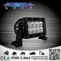 CE&Rohs certification IP69K AURORA 4 inch dustproof light bar led led light 2 inch 12v off road