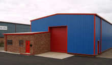 Small Modern Prefabricated Metal House/Factory/Shed/Hangar/Plant/Warehouse/(LTG423)