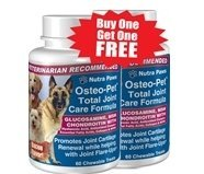 health food-Glucosamine for dogs with Chondroitin MSM & More - Osteo Pet Total Joint Care Formula