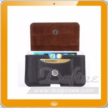 Universal Mobile Phone Belt Leather Cover Case Phone Waist Pouch Bag