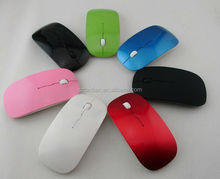 wholesale 2.4G ultra Slim USB Wireless Mouse Multi Touch Magic Mouse, colorful wireless case