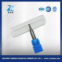 ISO standard end mill using tungsten carbide round rod