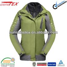 2014 women waterproof winter clothes /coats