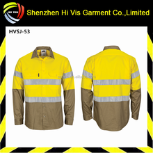 cotton drill work shirts,workwear uniform,safety shirts workwear