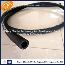 hot sell R6 highg pressure single fiber braid,rubber covered rubber hose