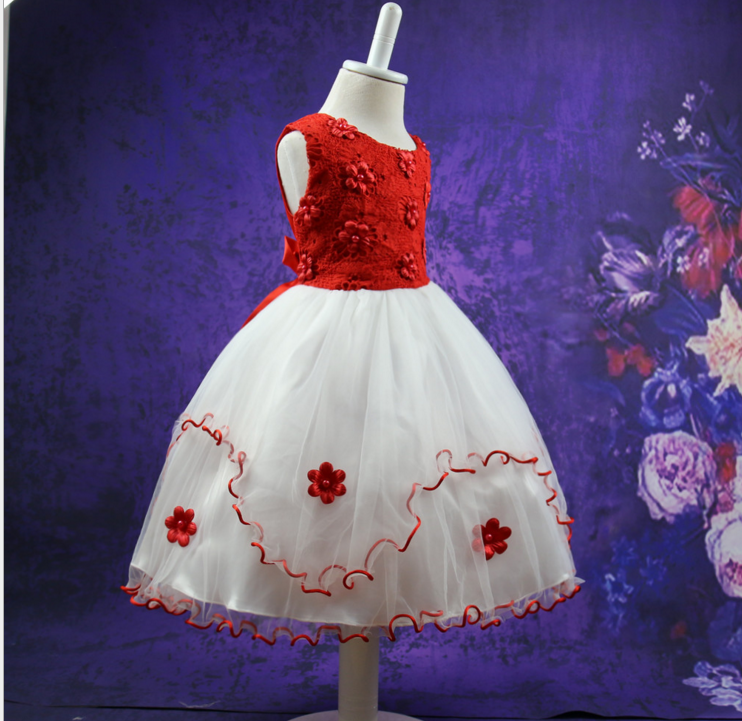 Girl Party Wear Western Dress Cheap 1-6 Years Old Baby Girl Dress ...