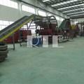 carro de reciclagem de pneus da linha de produção