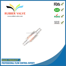 small plastic one way rubber air valve for small fish tank