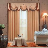 Elegant high class simple drapery curtain
