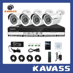 Dependable performance 720P AHD home security video monitoring