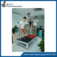 used mobile plywood aluminum stage risers used portable stages for sale