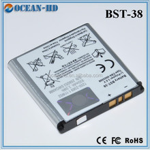 original mobile phone made in china spare parts battery for sony ericsson BST-38