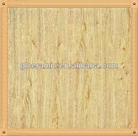 600mmx600mm Rustic Tiles Wooden Floor Design Square, Living Room Wooden Floor Light Yellow