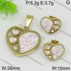 Factory Price new product big size sliver plated jewelry jewelry set bride