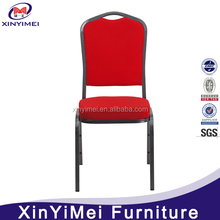 new style stakable iron chair/well desigh material chair iron chair/banquet iron chair