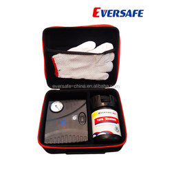 Car tyre puncture repair kit with MSDS, CE, ISO certificates