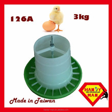 Crown Classic Animal Chicken Poultry Plastic Gear Box Feeder