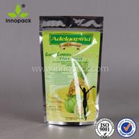 moisture proof plastic custom printing coffee bag