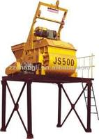 High quality with low price JS500 ,25m3/h small mortar mixer