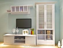 high gloss modern design lcd tv cabinet model