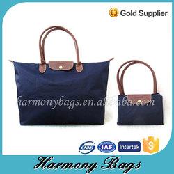 Quanzhou factory unique portable folding shopping bag