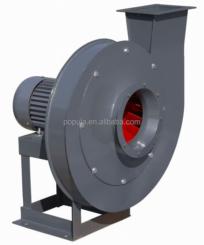 High Pressure Centrifugal Fan : High pressure material transportation centrifugal fan