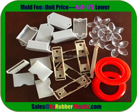 ABS Plastic Injection Products / PP Plastics Injection Mould / Nylon Plastic Part Drawing