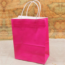 cheap paper bag white paper handle With nice package