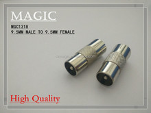 9.5MM male to 9.5MM female connector