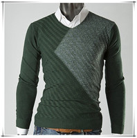Wholesale discount sales pullover sweater pattern sweater knitting