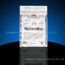 Durable waterproof tamper evident security bags with good price