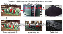 Tire Recycling machine for rubber sheet /tire Rubber Recycle Machine/Tire Reclaimed Rubber Machine
