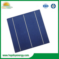 Dark Blue 6X6 solar cells, 3BB poly thin film cells, 156*156 multicrystallie solar cells